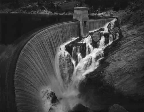 Toshio SHIBATA - #1905 MCA Chicago_Gibson Dam, Lewis and Clark County, MT , 1996 , Gelatin silverprint