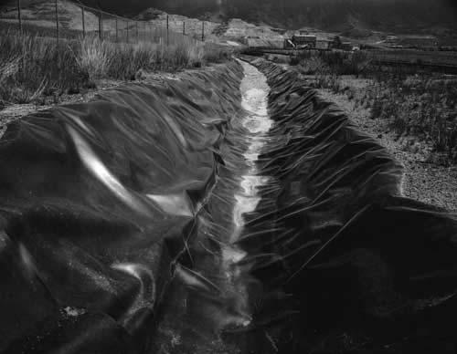 Toshio SHIBATA - #1928 MCA Chicago , Berkeley Pit, Butte, MT , 1996 ,Gelatin silverprint