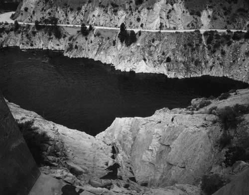 Toshio SHIBATA - #1992 MCA Chicago_Arrow Rock Dam, Boise County, ID , 1996 , Gelatin silverprint