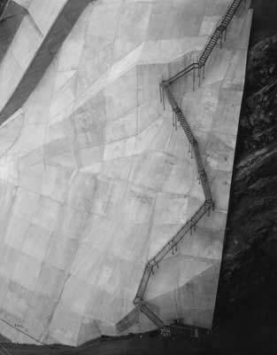 Toshio SHIBATA - #2193 MCA Chicago , Coolidge Dam, San Carlos, AZ , 1997 ,Gelatin silverprint