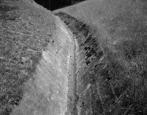 Toshio SHIBATA - #2361 MCA Chicago , Buck Horn Lake Dam, Perry County, KY , 1997 ,Gelatin silverprint