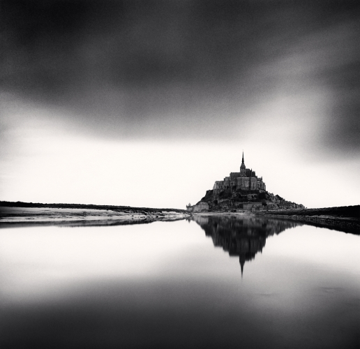 Michael Kenna,Midday Prayer, Mont St Michel 2004