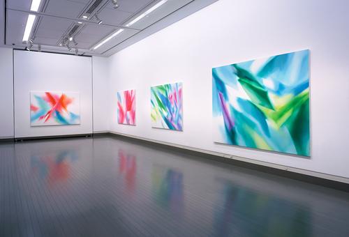 Naoko TOMIOKA  Dai-ichi Life Gallery, 2005  (C) Naoko Tomioka, Photo (C) Tatsuhiko NAKAGAWA