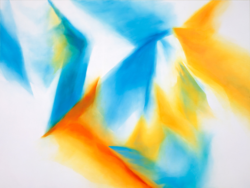 Naoko TOMIOKA  99-04  1999  acrylic on cotton, panel  190×250  (C) Naoko Tomioka, Photo (C) Tatsuhiko NAKAGAWA