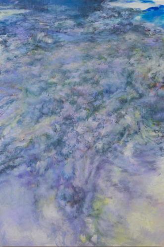 "Tamana MOTEKI ""Clouds No.1 ーfrom Shanghaiー"" 194.0cm×130.3cm"
