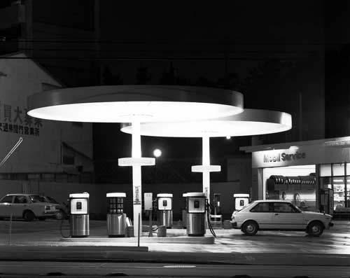 Toshio SHIBATA - N-046 Night Photo , Negishi, Yokohama City , 1982 ,Gelatin silverprint
