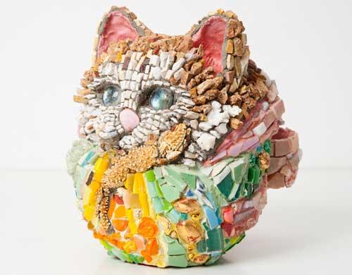 Kayo NISHINOMIYA - Grand Celebration ,  Dharma Cat  the 9th celestial maiden -evil against evil- , 2010