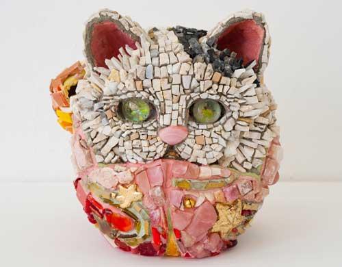 Kayo NISHINOMIYA - Grand Celebration , Dharma Cat  the 11th princess - Autum leaves - , 2010