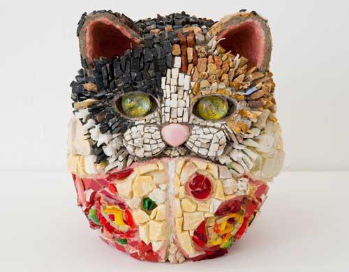 Kayo NISHINOMIYA - Grand Celebration , Dharma Cat  the 13th princess - rose - , 2010