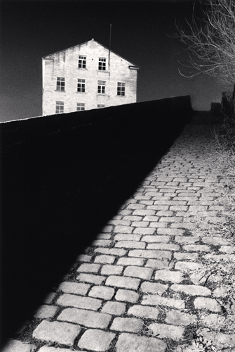 Michael Kenna - Bill Brandt's Snicket, Halifax, Yorkshire, England. 1986