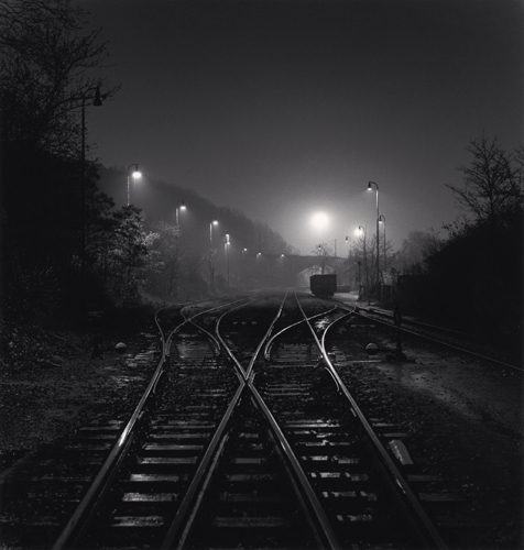 Michael Kenna - Branik Station, Prague, Czechoslovakia. 1992