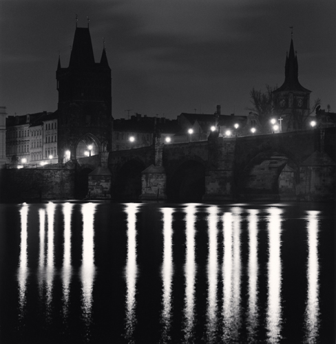 Michael Kenna - Charles Bridge, Study 10, Prague, Czech Republic. 2007