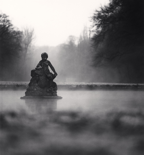 Michael Kenna - Child of the Mist, Courances, France. 1997
