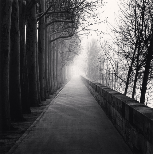 Michael Kenna - Cours la Reine, Paris, France. 1987