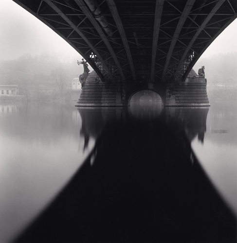 Michael Kenna - Czech Bridge, Prague, Czechoslovakia. 1996