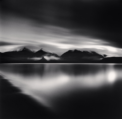 Michael Kenna - Evening Light, Lake Manapouri, Southland, New Zealand. 2013