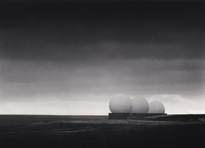 Michael Kenna - Filey Early Warning Station, Yorkshire, England. 1981
