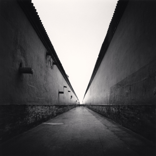 Michael Kenna - Forbidden City Walls, Beijing, China. 2007