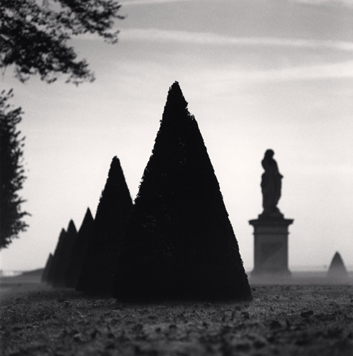 Michael Kenna - Ground Mist, St. Germain-En-Laye, France. 1996