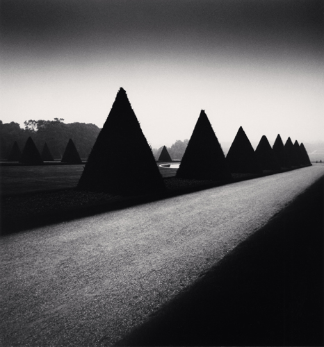 Michael Kenna - Homage to Atget, Parc de Sceaux, Paris, France. 1988
