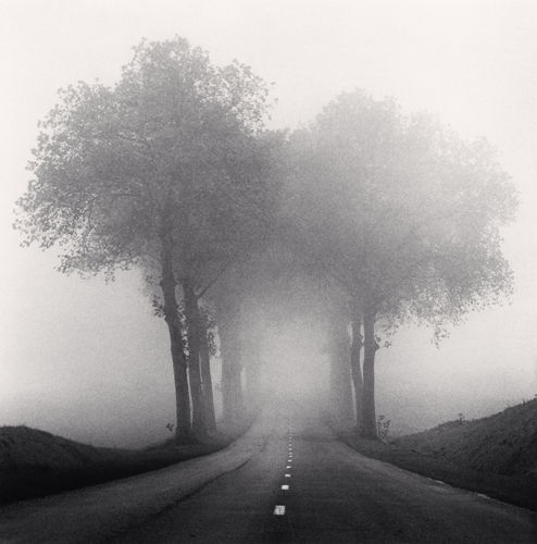 Michael Kenna - Homage to HCB, Brittany, France. 1993