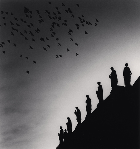 Michael Kenna - One Hundred and Four Birds, Prague, Czechoslovakia. 1992