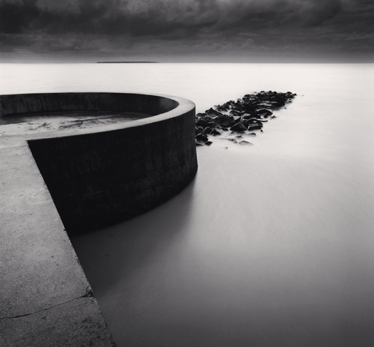 Michael Kenna - Pier's End, Chatelaillon Plage, France. 2000
