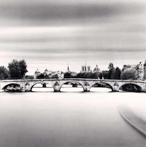 Michael Kenna - Pont Royal, Study 2, Paris, France. 2011