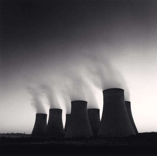 Michael Kenna - Ratcliffe Power Station, Study 41, Nottinghamshire, England. 2003