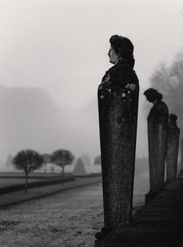 Michael Kenna - Statuary, Vaux le Vicomte, France. 1988