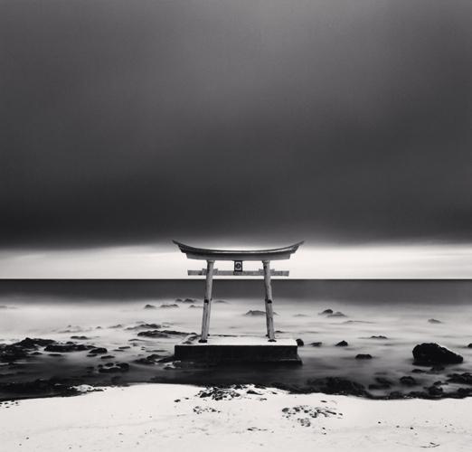 Michael Kenna - Torii Gate, Shosanbetsu, Hokkaido, Japan. 2004