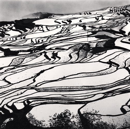 Michael Kenna - Yuanyang, Study 2, Yunnan, China. 2013