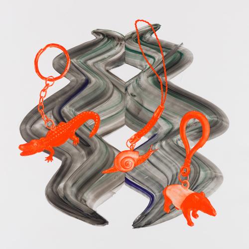 吉澤 美香 - 「たー76」 2016 76.0x76.0cm グアッシュ、ユポ紙