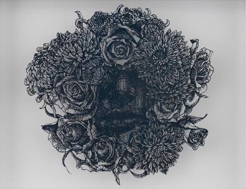 Aya MORITA - Life is Blind(盲目), 2016, 36×45cm, 切り絵