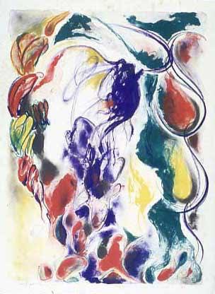 TOEKO TATSUNO 「UNTITLED-Ⅳ」, 1982, Lithograph, 76.0×55.0 cm