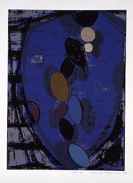 TOEKO TATSUNO 「June-6-89」, 1989, Silkscreen on paper, 78.5×56.0 cm