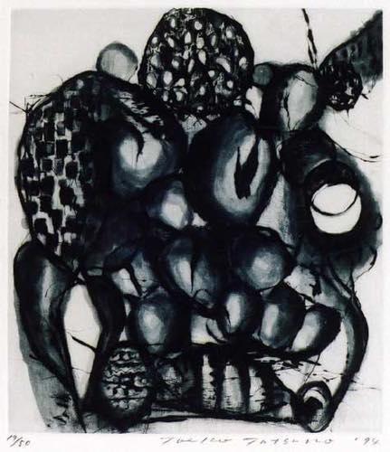 TOEKO TATSUNO 「May-1-94」, 1994, Etching, 44.5x39.0 cm